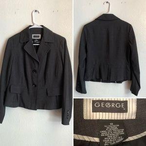 Women's button blazer